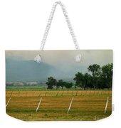 Taos Fields Weekender Tote Bag by Steven Ralser