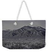 Taos In Black And White II Weekender Tote Bag