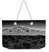 Taos In Black And White X Weekender Tote Bag