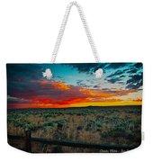 Taos Sunset Xi Weekender Tote Bag