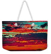Taos Sunset Xix Weekender Tote Bag