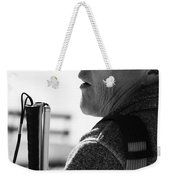 Tap And Stare Weekender Tote Bag