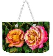 Tapestry - Roses And Thorns Weekender Tote Bag