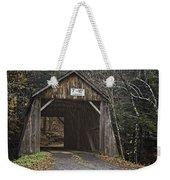 Tappan Covered Bridge Weekender Tote Bag