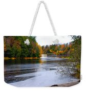 Taquamenon River And Lower Falls  Weekender Tote Bag