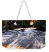 Taquamenon River Weekender Tote Bag