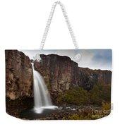 Taranaki Falls In Tongariro Np New Zealand Weekender Tote Bag
