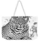 Tarangire Leopard Weekender Tote Bag