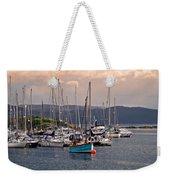 Tarbet Harbor At Sunrise Weekender Tote Bag