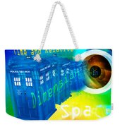 Tardis Time And Relative Dimension In Space Weekender Tote Bag