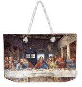 Tardis V Leonardo Da Vinci Weekender Tote Bag