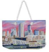 Target Field Weekender Tote Bag by Deborah Ronglien