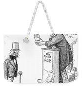 Tariff Bill, 1921 Weekender Tote Bag