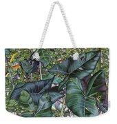 Taro Garden Weekender Tote Bag