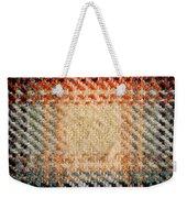 Tartan Detail Weekender Tote Bag by Tom Gowanlock