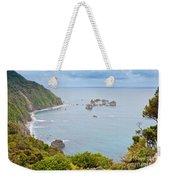 Tasman Sea At West Coast Of South Island Of New Zealand Weekender Tote Bag