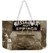 Tassajara Hot Springs Stage Monterey Co. California Circa 1910 Weekender Tote Bag
