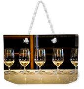 Tasting Wine Weekender Tote Bag
