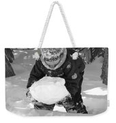 Tasting Winter Weekender Tote Bag