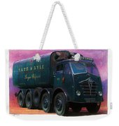 Tate And Lyle Foden. Weekender Tote Bag