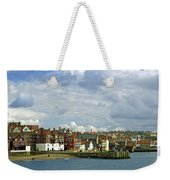 Tate Hill Pier And The Shambles - Whitby Weekender Tote Bag