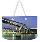 Tate Modern And Millennium Bridge Weekender Tote Bag