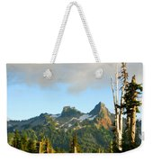 Tatoosh Range In August. Mt Rainier National Park Weekender Tote Bag