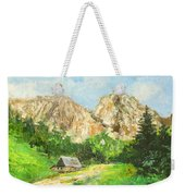 Tatry Giewont - Poland Weekender Tote Bag