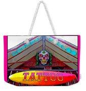 Tattoo Sign Digital Weekender Tote Bag
