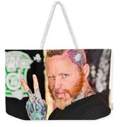 Tattoo Style Weekender Tote Bag