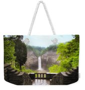 Taughannock Falls Weekender Tote Bag by Jessica Jenney
