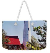 Tawas Point Lighthouse...from Tawas Bay Side Weekender Tote Bag