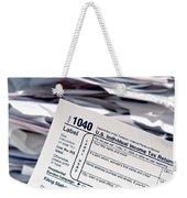 Tax Time  Weekender Tote Bag
