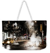 Taxi And Smoke Weekender Tote Bag