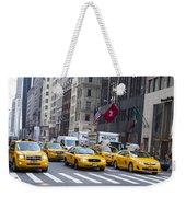Taxi Weekender Tote Bag