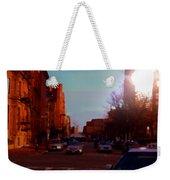 Taxi - Boston Weekender Tote Bag