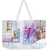 Taxi Eight Show Time Weekender Tote Bag