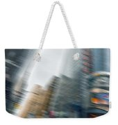 Taxi On Times Square Weekender Tote Bag