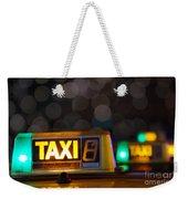 Taxi Signs Weekender Tote Bag