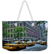 Taxicabs Of New York City Weekender Tote Bag