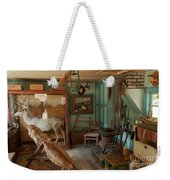 Taxidermy At The Holzwarth Historic Site Weekender Tote Bag