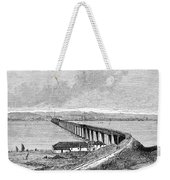 Tay Rail Bridge, 1879 Weekender Tote Bag