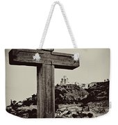 Tbilisi Cross Weekender Tote Bag