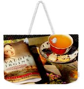 Tea And A Read Weekender Tote Bag