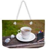 Tea And Art Weekender Tote Bag