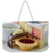 Tea Cakes Weekender Tote Bag