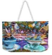 Tea Cup Ride Fantasyland Disneyland Pa 02 Weekender Tote Bag