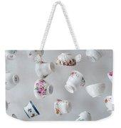 Tea Cups Weekender Tote Bag