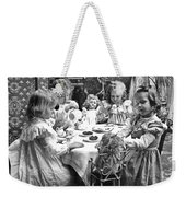 Tea Party, C1902 Weekender Tote Bag