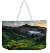 Tea Plantation At Dawn Weekender Tote Bag
